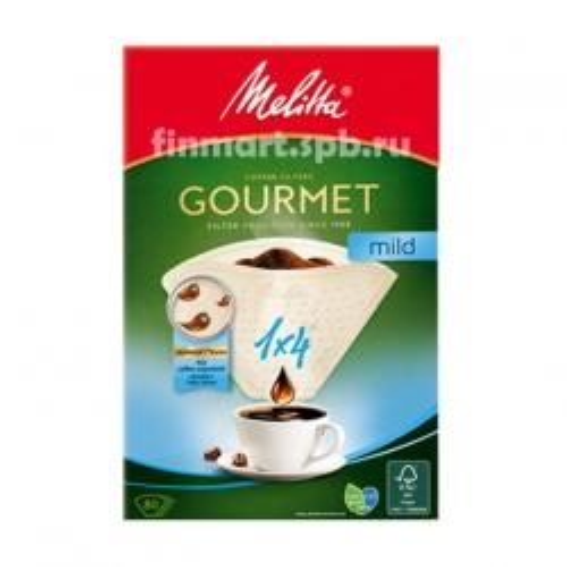 Фильтры для кофеварок Melitta 1/4 gourmet mild - 80 шт.