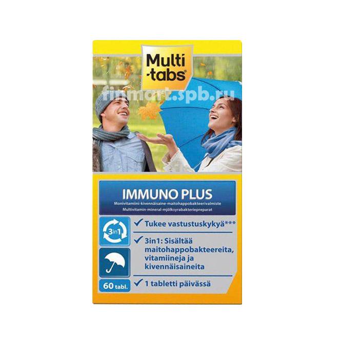 Витамины Multi-Tabs Immuno Plus (Мультитабс иммуно плюс) - 60 таб.