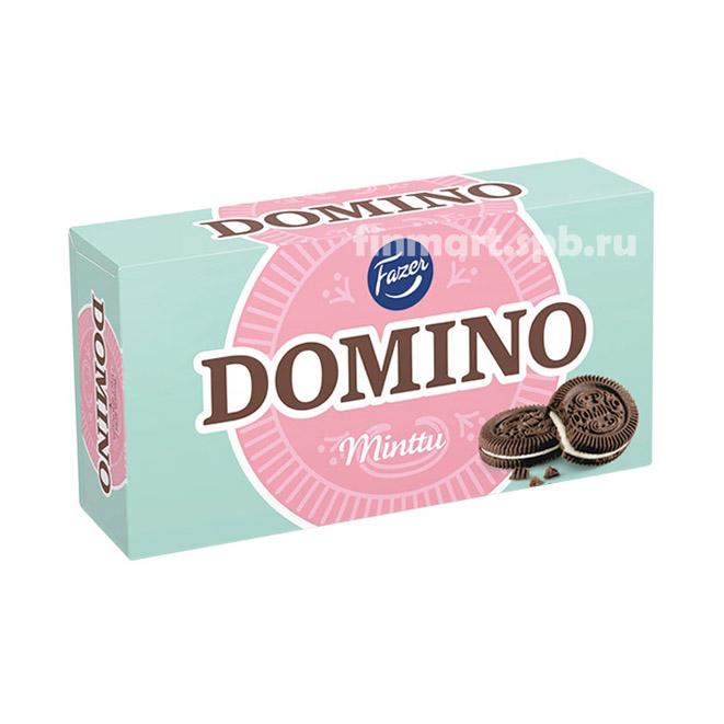 Печенье Fazer Domino Minttu - 350 гр.