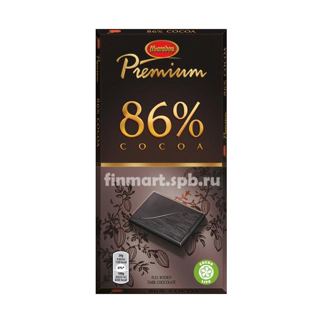 Тёмный шоколад Marabou Premium 86% cocoa - 100 гр.