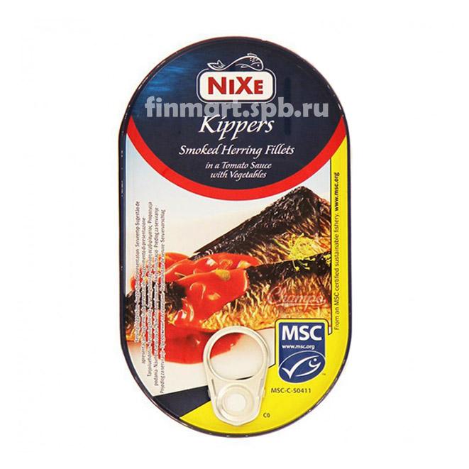 Филе сардины в оливковом масле Nixe skinless and boneless Sardines in olive oil - 125 гр.