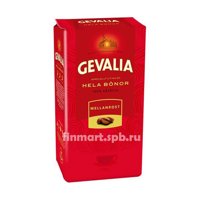 Кофе в зёрнах Gevalia hela bonor mellanrost - 500 гр.