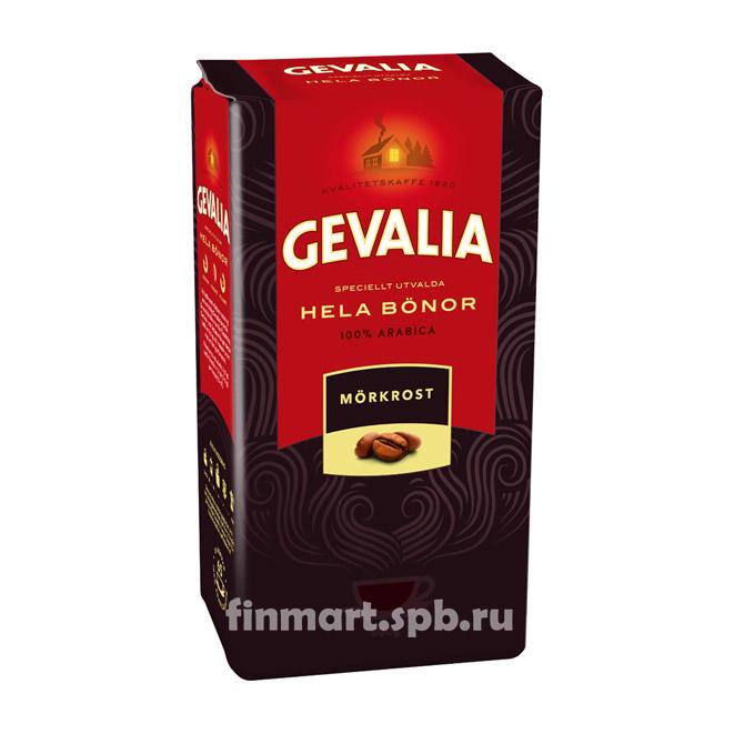 Кофе в зёрнах Gevalia hela bonor morkrost (5) - 500 гр.