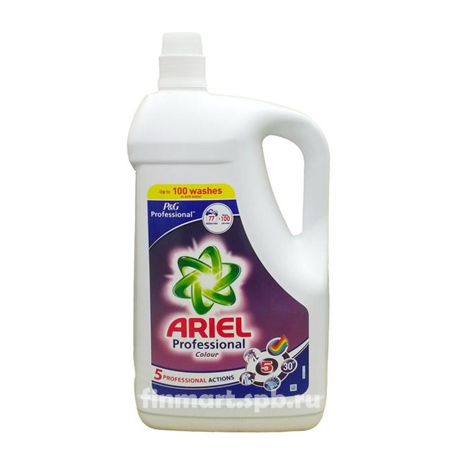 Гель для стирки Ariel Colour&Style Professional - 5 л.