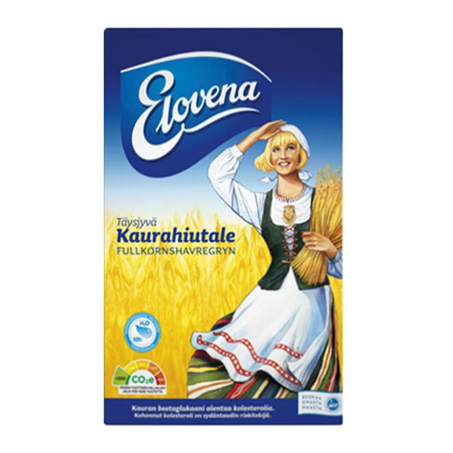 Каша Геркулесовая Elovena kaurahiutale - 1 кг.