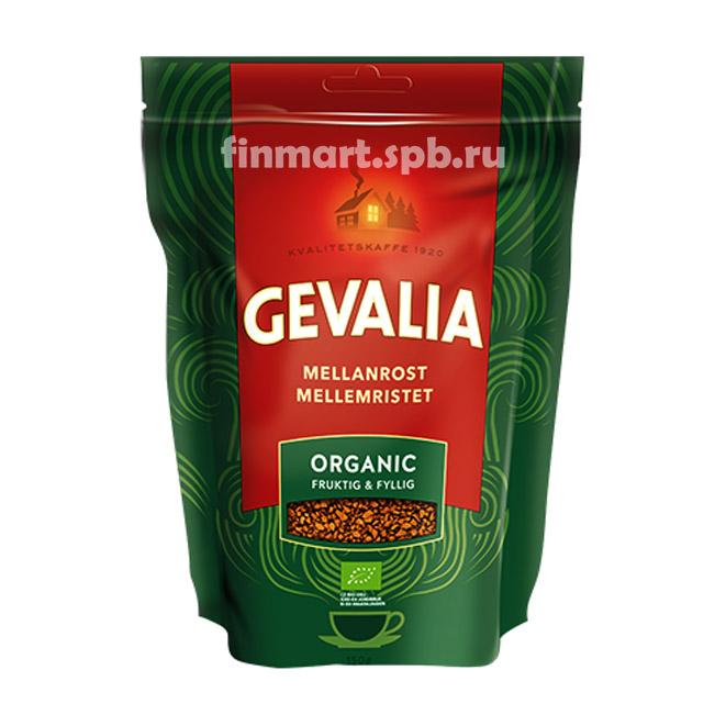 Растворимый кофе Gevalia Organic - 150 гр.