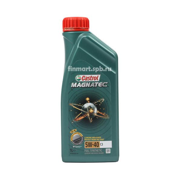 Моторное масло Castrol Magnatec 5w-40 C3 - 1 л.