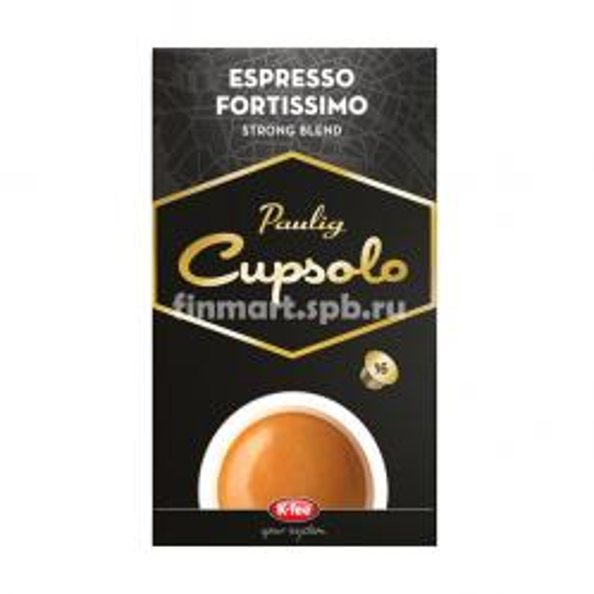 Кофе в капсулах Paulig cupsolo espresso Fortissimo - 16 шт.