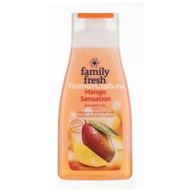 Гель для душа Family Fresh Mango Sensation - 500 мл.