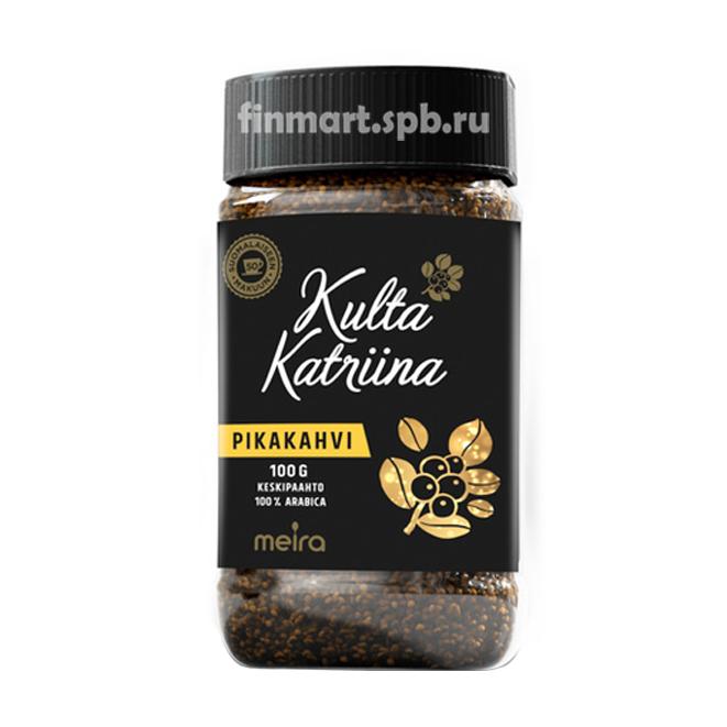 Растворимый кофе Kulta Katrina Pikakahvi - 100 гр.