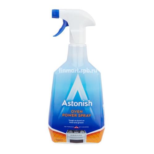 Средство для чистки духовки Astonish oven power spray - 750 мл.