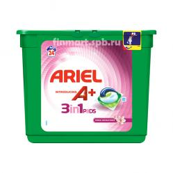 Капсулы для стирки Ariel Pods 3in1 fresh sensation - 24 шт.