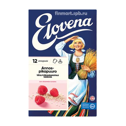 Каша геркулесовая с малиной Elovena annospikapuuro vadelma - 12 порций.