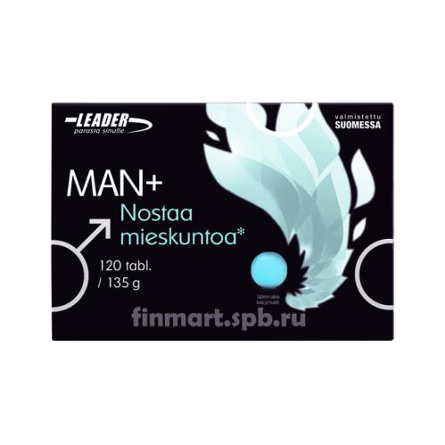 Комплекс витаминов Leader Man+ - 120 шт.