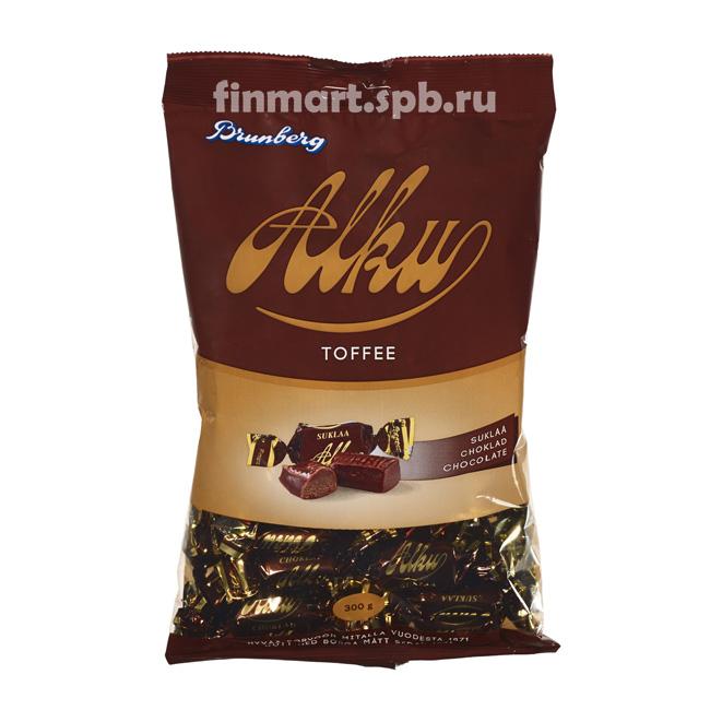 Шоколадный ирис Brunberg Alku toffee - 340 гр.