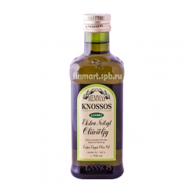 Оливковое масло Memmas Knossos Extra Virgine d Oliva (Luomu) - 500 мл.
