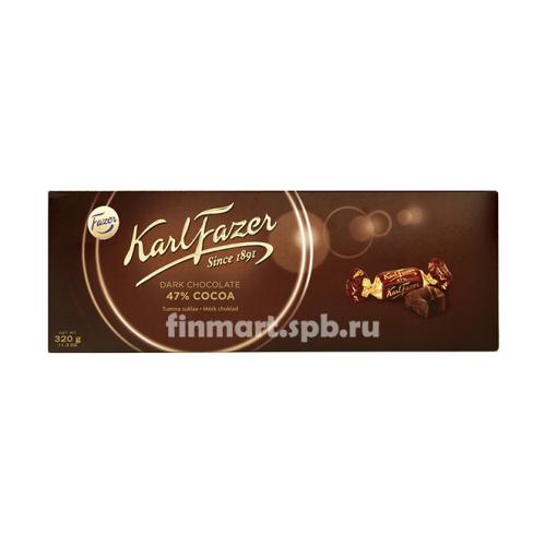 Шоколадные конфеты Karl Fazer 47% Cacao - 320 гр.