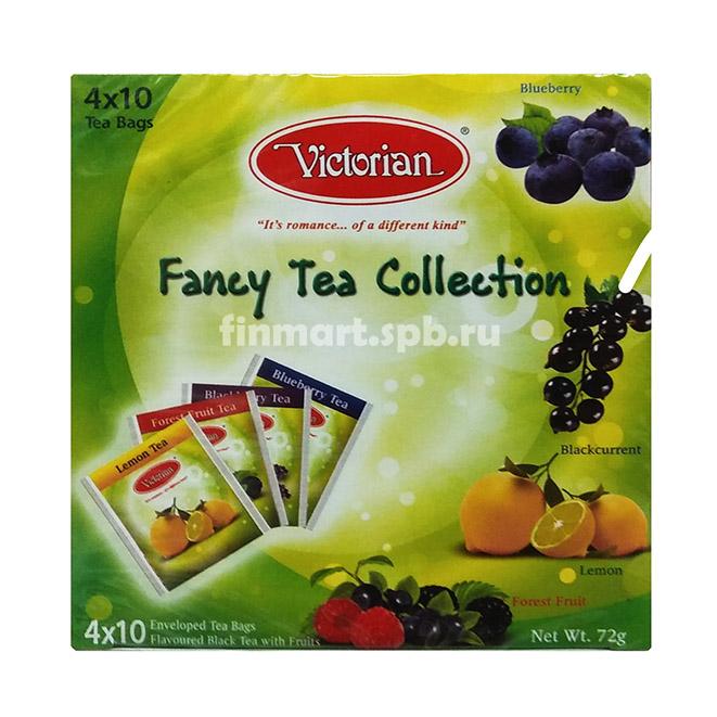 Чай Victorian Fancy Tea Collection - 4х10 пак.