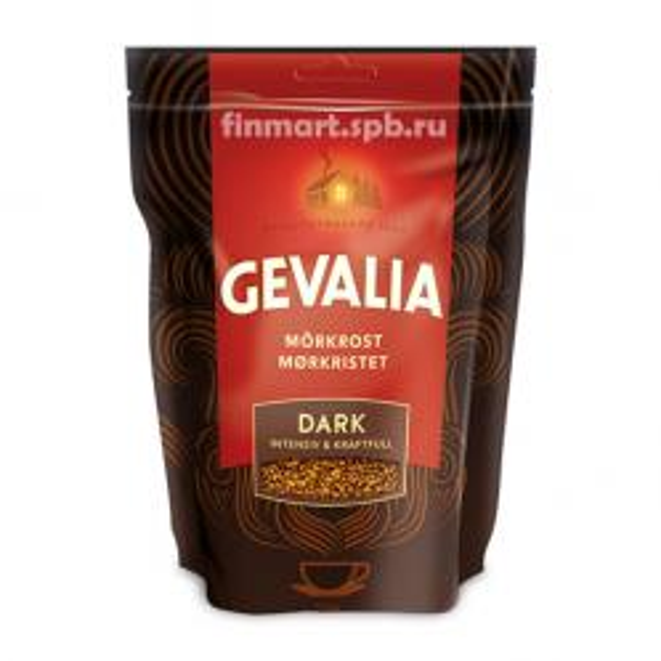 Растворимый кофе Gevalia Dark - 200 гр.