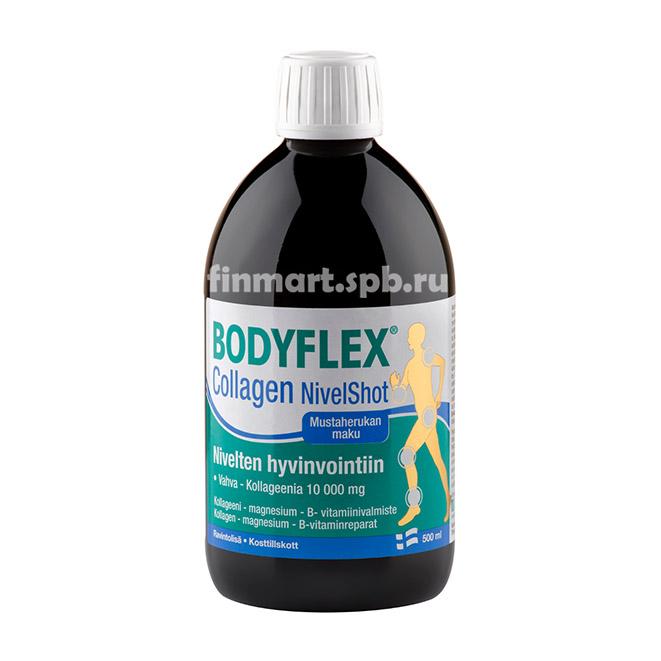 Витамины для суставов BODYFLEX Collagen NivelShot - 500 мл.