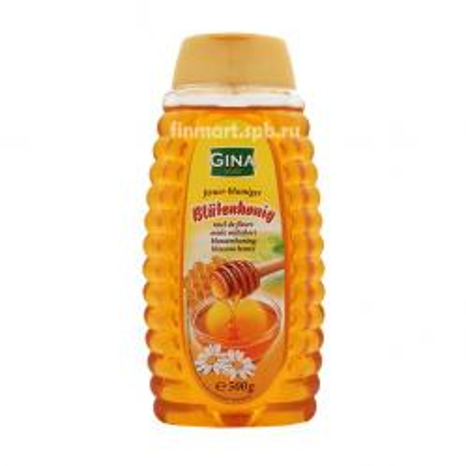 Мёд цветочный Gina Blossom honey - 500 гр.