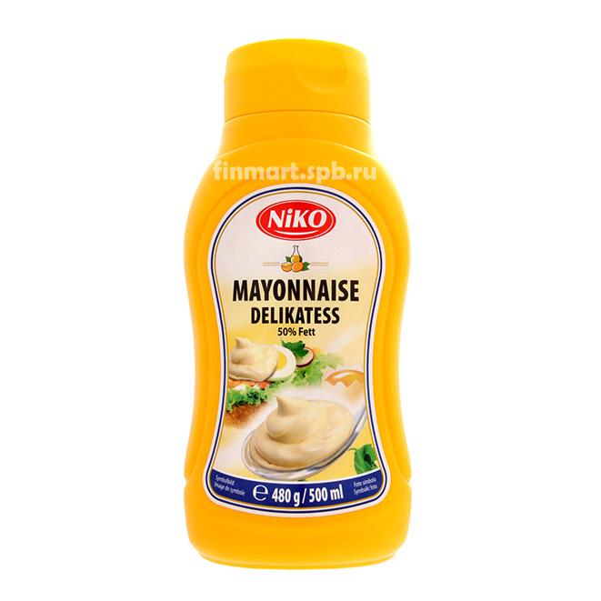Майонез Niko Mayonnaise Delikatess - 500 мл.