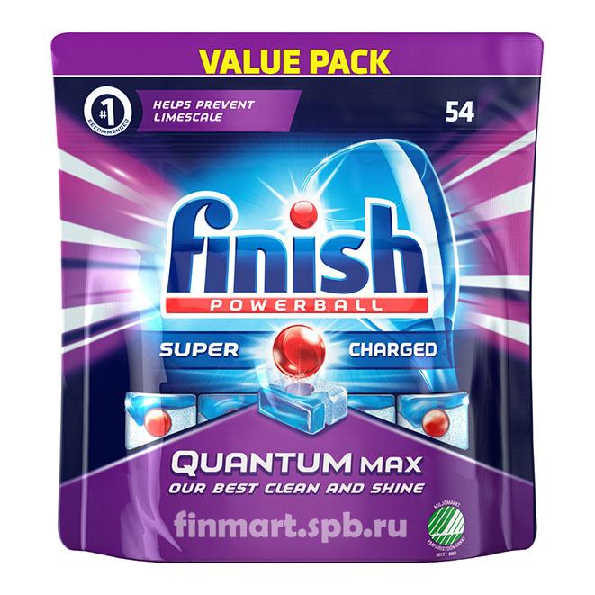 Таблетки для ПММ Finish Quantum MAX - 54 таб.