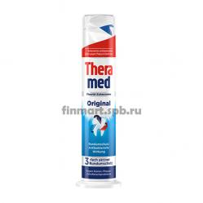 Зубная паста Theramed original (тюбик помпа) - 100 мл.