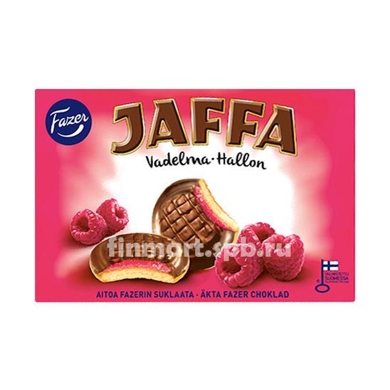 Печенье Fazer Jaffa (c малиновой начинкой) - 300 гр.