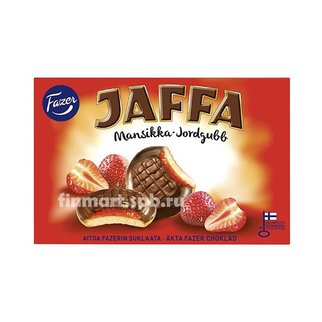 Печенье Fazer Jaffa (c клубничной начинкой) - 300 гр.