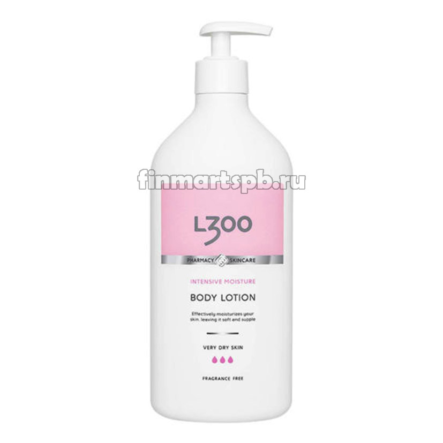 Лосьон для тела L300 Body Lotion very dry skin (с дозатором)