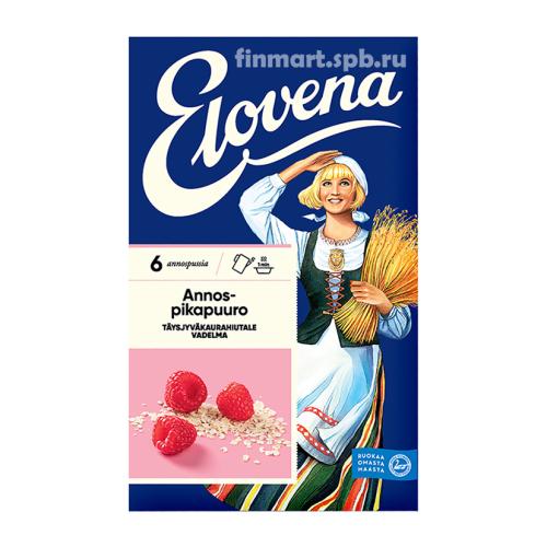 Каша геркулесовая с малиной Elovena annospikapuuro vadelma - 6 порций.