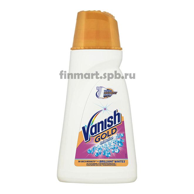 Пятновыводитель Vanish GOLD Oxi Action Crystal white (Ваниш гель) - 940 мл.