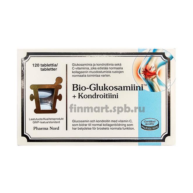 Витамины Bio-Glukosamiini+Kondroitiini - 120 таб.