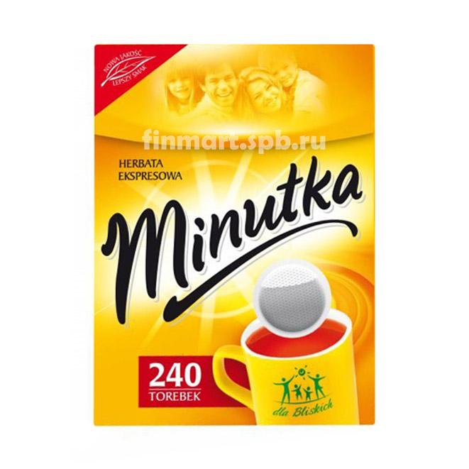 Чёрный чай Minutka - 240 пак.