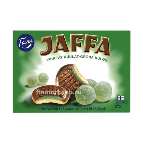Печенье Fazer Jaffa (c мармеладом) - 300 гр.