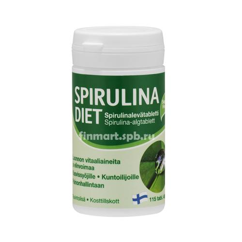 Микроводоросли Spirulina Diet - 115 таб.