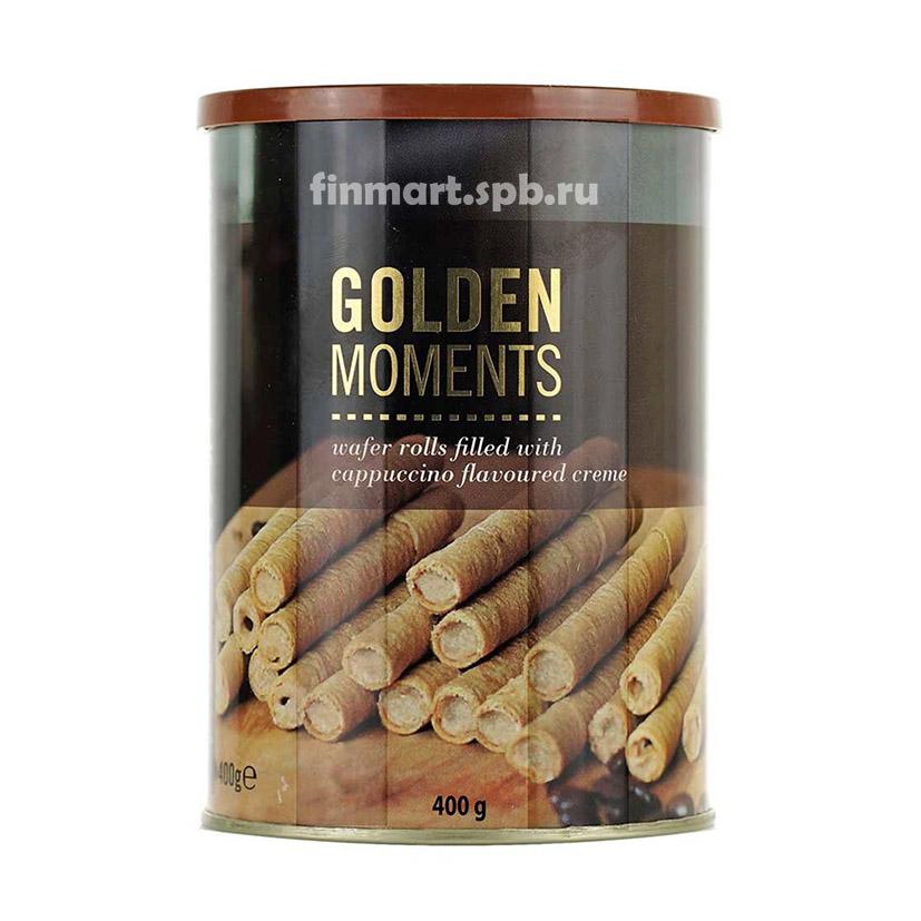 Вафельные палочки с капучино  Becky's  Golden moments cappuccino - 400 гр.