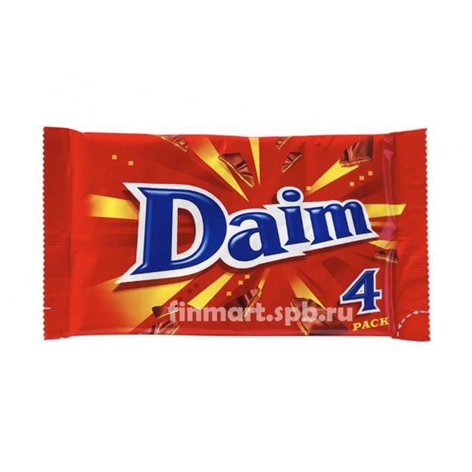 Шоколадный батончик с карамелью Daim - 4 шт.