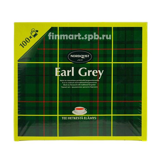 Чай с бергамотом Nordqvist Earl Grey - 100 пак.