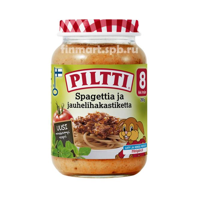 Детское овощное пюре Пилти овощи с говядиной - 190 гр.