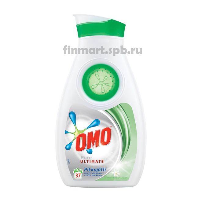 Гель для стирки концентрированный OMO Pure Ultimate - 888 мл.