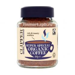 Растворимый кофе Clipper Super Special Organic Coffee - 100 гр.