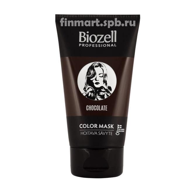 Маска для волос Biozell professional Chokolate (шоколадный оттенок) - 150 мл.