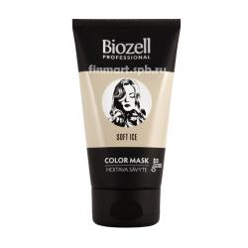 Маска тонирующая для волос Biozell professional Soft Ice