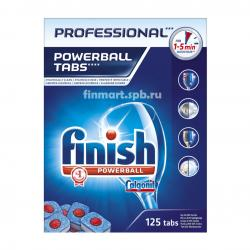 Таблетки для ПММ Finish Professional powerball tabs - 125 таб.