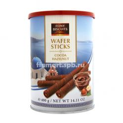 Вафельные палочки Feiny Biscuits Wafer Sticks hazelnut (орех) - 400 гр.