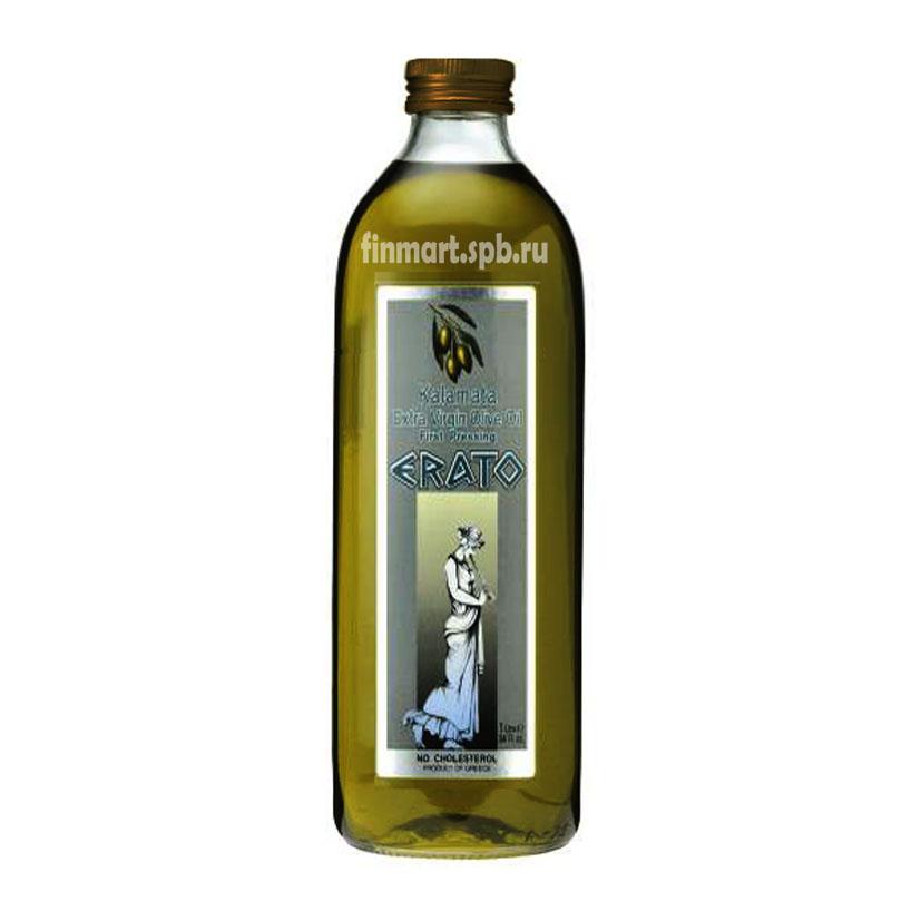 Оливковое масло первого отжима Erato , стеклянная бутылка 2 литра.