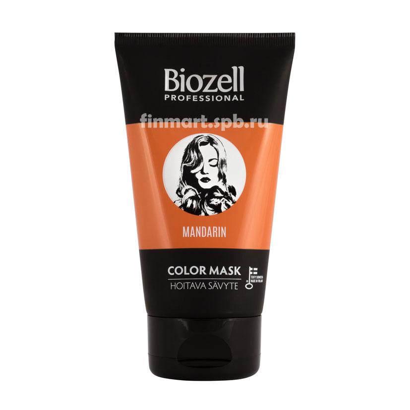 Маска тонирующая для волос Biozell professional Mandarin
