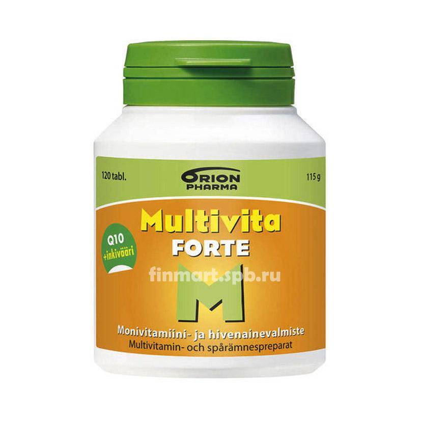 Витамино-минеральный комплекс Multivita Forte - 120 таб.